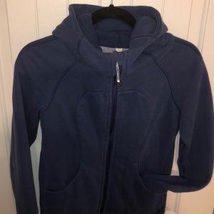 Lululemon Athletica Blue Scuba Hoodie sweatshirt 4